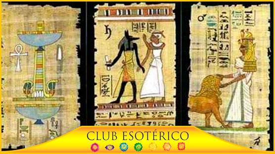 cartas del tarot egipcio - club esoterico