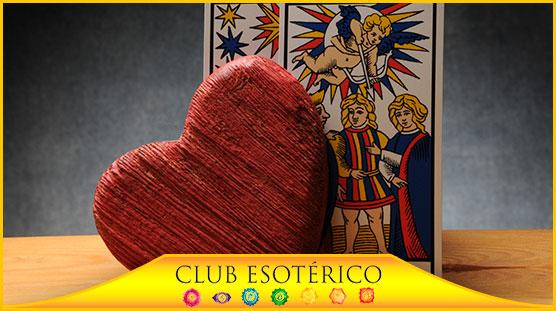 tarot del amor con cuatro cartas - club esoterico