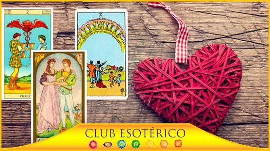 tarot del amor para ser feliz - club esoterico
